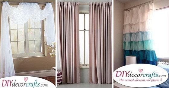 Bedroom Curtain Ideas - 40 Bedroom Window Curtains