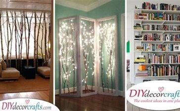 30 CHEAP ROOM DIVIDER IDEAS - Room Separator Ideas