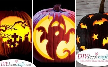 25 EASY PUMPKIN CARVING IDEAS - Creative Pumpkin Decorating Ideas