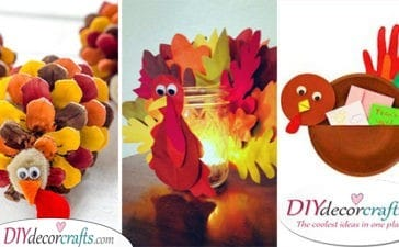 25 THANKSGIVING CRAFTS FOR KIDS - Stunning Thanksgiving Craft Ideas