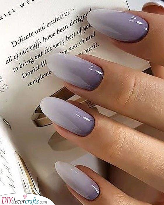 An Ombre Purple - Elegant and Sophisticated