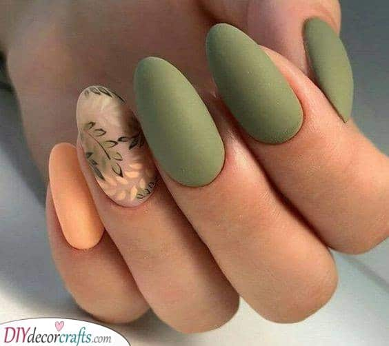 Magnificent in Matte - The Best Fall Nail Ideas