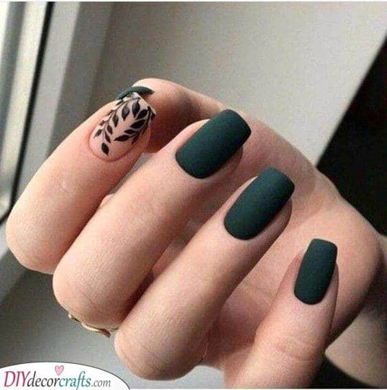 Matte and Black - An Elegant Look