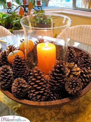 A Pile of Pinecones - A Touch of Nature