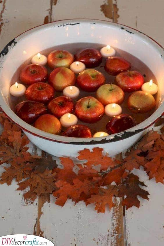 All About Apples - Fall Table Decor Ideas
