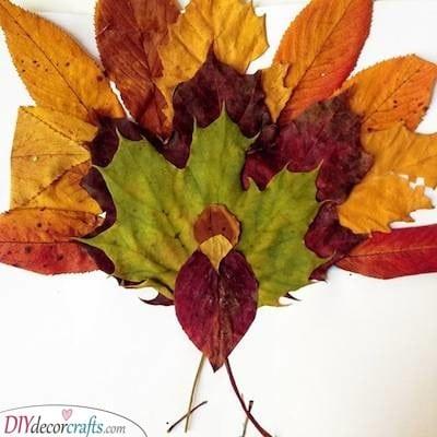 A Leafy Turkey - Amazing and Earthy