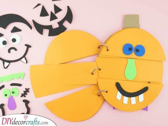 Pumpkin Faces – A Fun Flipbook