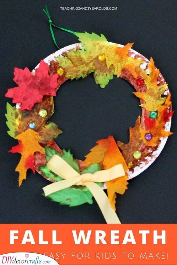 A Fall Wreath - For Your Front Door