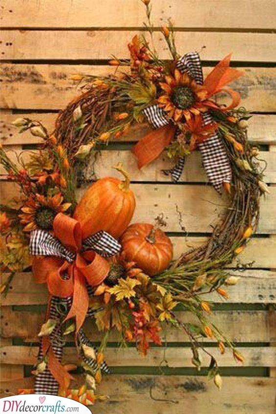 Add Some Pumpkins - A Natural Touch