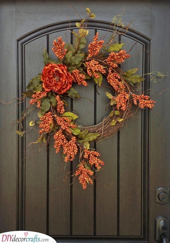 Autumn Colours - Sprigs of Berries