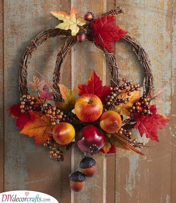 Creative and Gorgeous - Fall Wreaths for Front Door