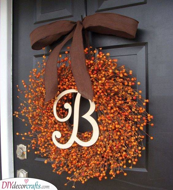 A Very Berry Wreath - Fall Wreath Ideas