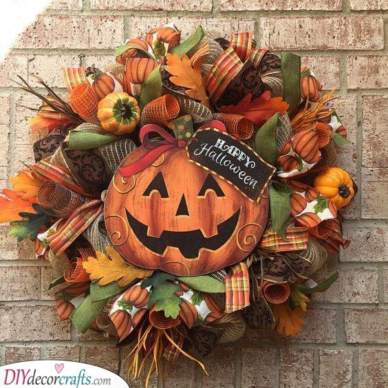 Time for Trick or Treat - Happy Halloween