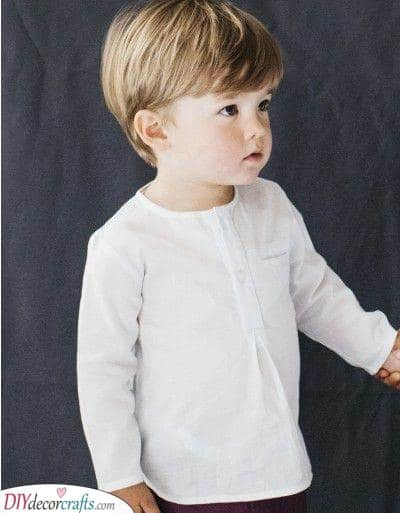 Simple and Sophisticated - Little Boy Haircuts