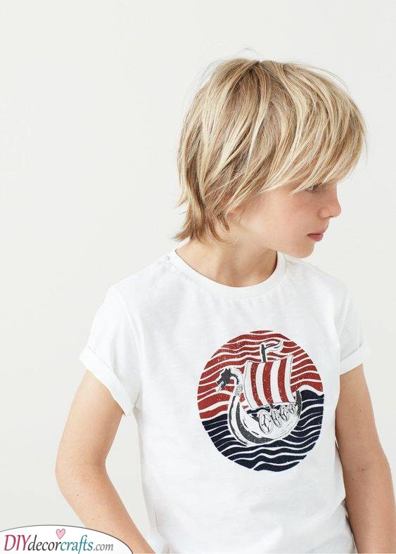 Layered and Cool - Easy Little Boy Haircuts