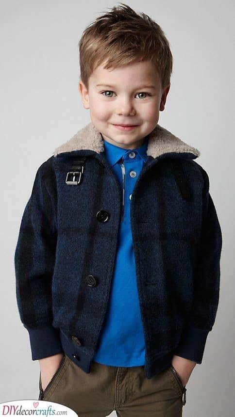 Layered and Fun - Little Boy Haircuts