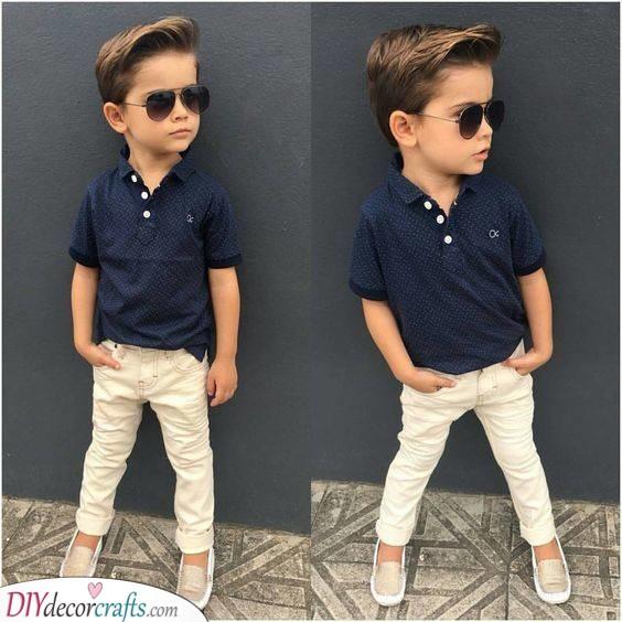 Pompadour Hair - Fashionable Toddler Boy Haircut