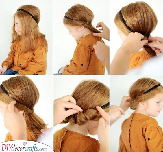 An Easy Updo - Sweet and Glamorous