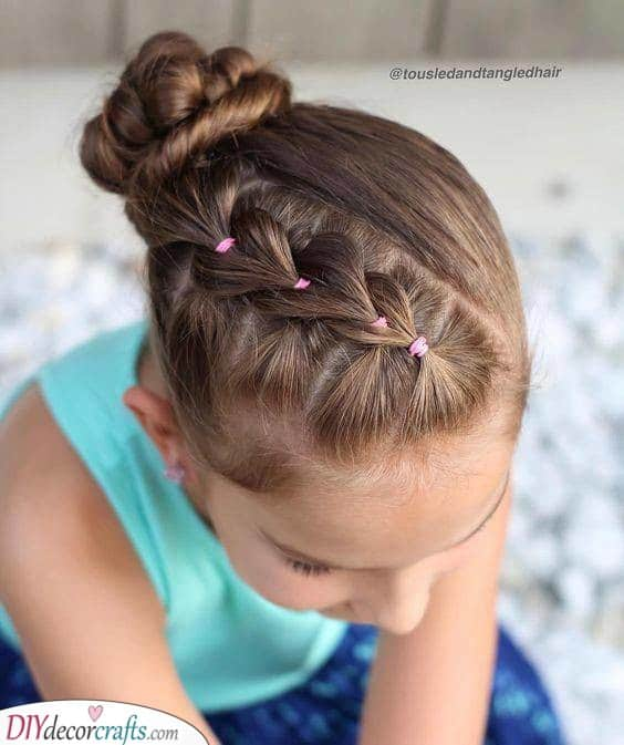 An Amazing Braid - Natural Hairstyles for Little Girls