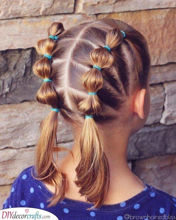 Unique Pigtails - Easy Little Girl Hairstyles