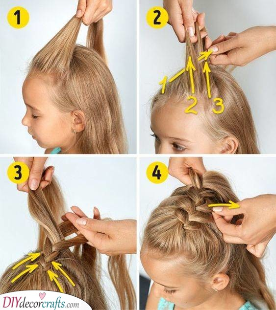 Add a Braid - Natural Hairstyles for Little Girls