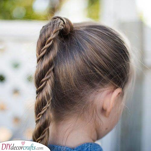 Wrap a Braid Around It - Cute Hairstyles for Little Girls