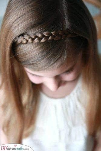 A Brilliant Braid - Easy Little Girl Hairstyles