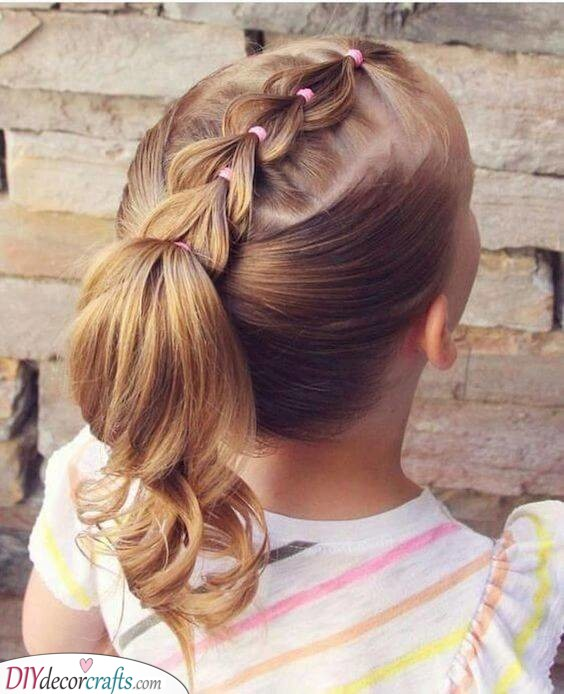 A Braided Ponytail - Sweet and Simple