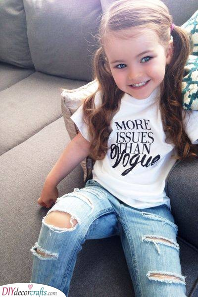 Two Cute Pigtails - Cute Hairstyles for Little Girls