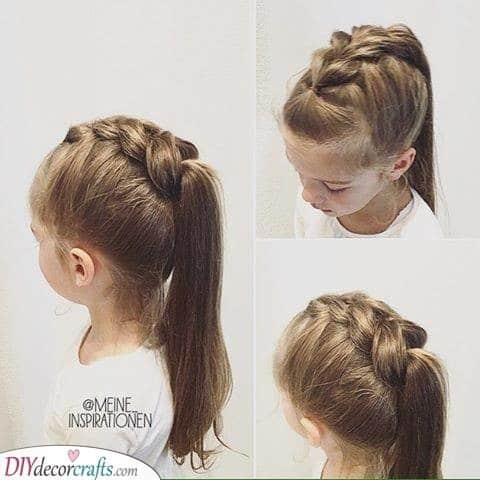 Fabulous Braided Look - Little Girl Hairstyles
