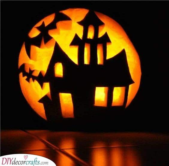 Another Haunted House - Great Jack-O-Lantern Designs