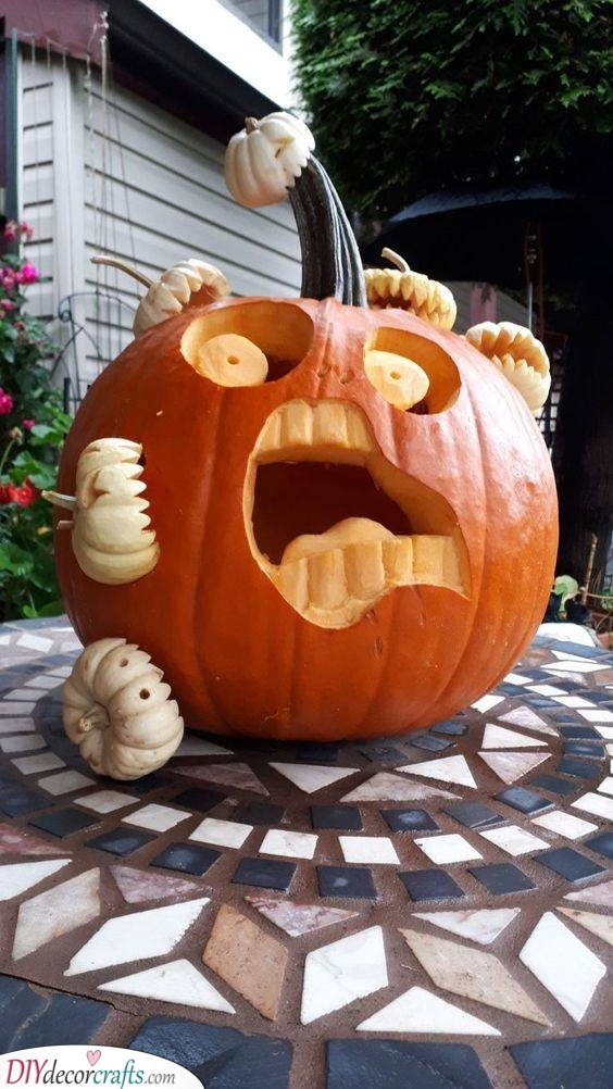 Attack of the Pumpkins - Funny and Unique