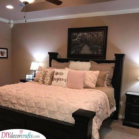 Black Furniture - Add Warm Shades