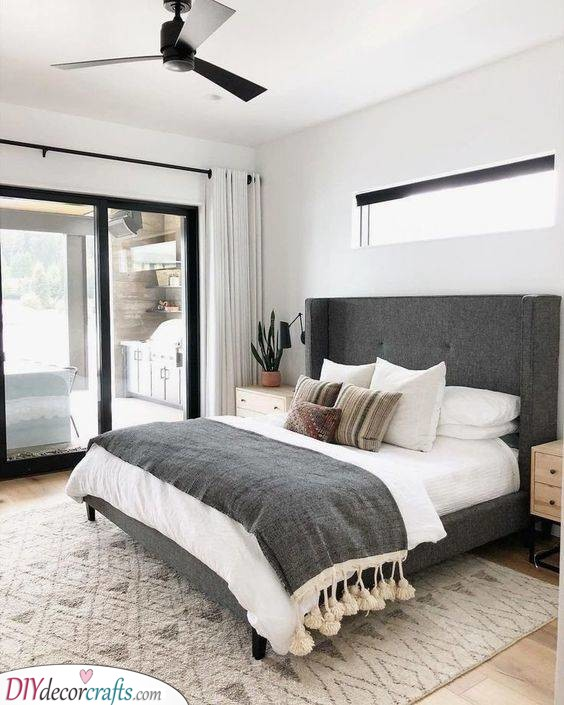 Stylish and Modern - Small Master Bedroom Design Ideas
