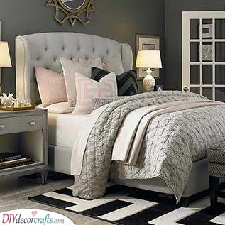 Warm and Cosy - Small Master Bedroom Ideas