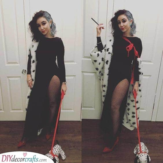 Cruella De Vil - Disney Inspired