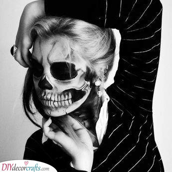 Becoming a Skeleton - Spooky Halloween Costume Ideas
