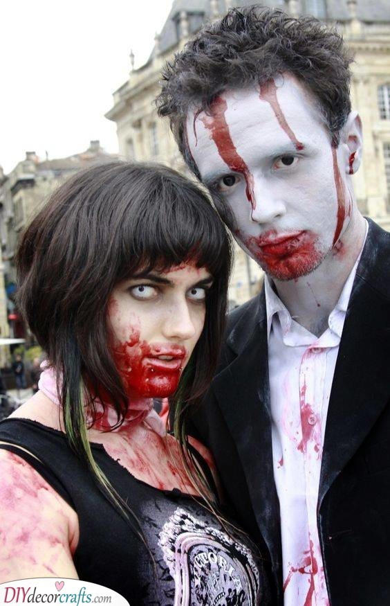 A Zombie Costume - Cheap and Simple
