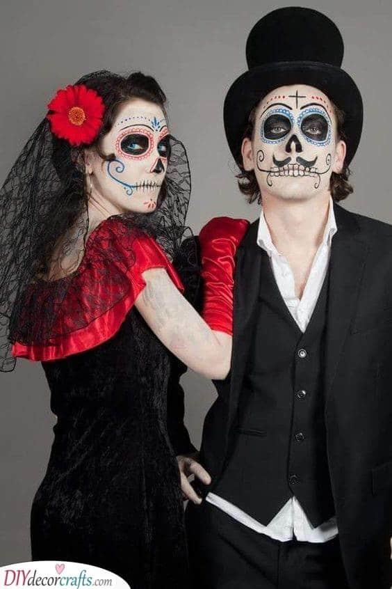 Dia De Los Muertos - Day of the Dead Makeup