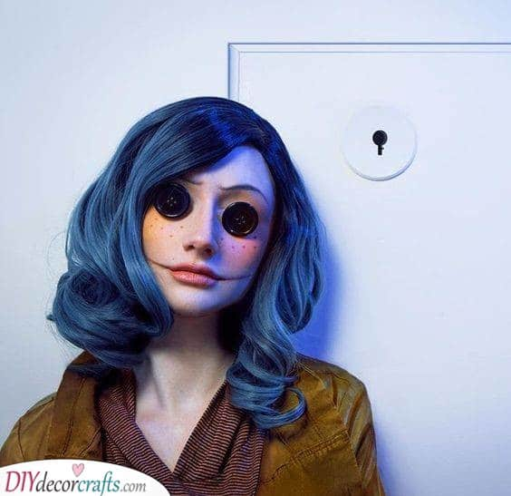 Coraline Vibes - A Set of Button Eyes