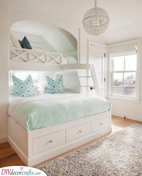Beautiful Bunk Bed - Perfect and Practical
