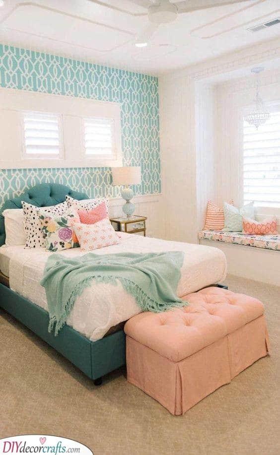 Using Bright Colours - Vibrant Furniture