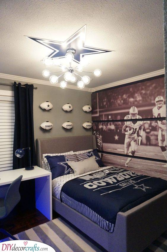 A Cowboy Bedroom - Perfect for Teenage Boys