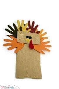 Paper Bag Craft - Thanksgiving Craft Ideas