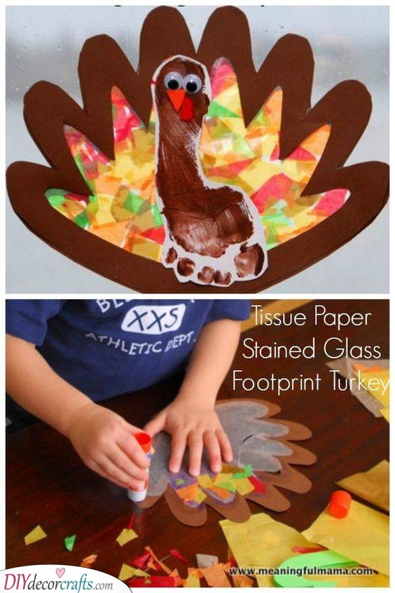 Using Their Footprint - A Quirky Turkey