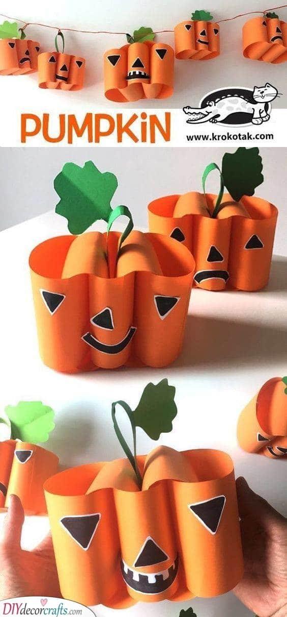 Pumpkin Lanterns - Cute for Autumn