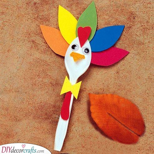 A Spoonful of Thanks - Thanksgiving Craft Ideas