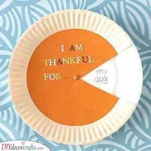 A Pumpkin Pie - Reasons for Gratitude