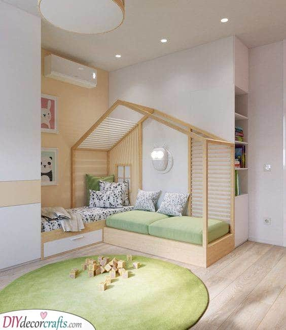 Simple and Clean - Little Boy Room Ideas