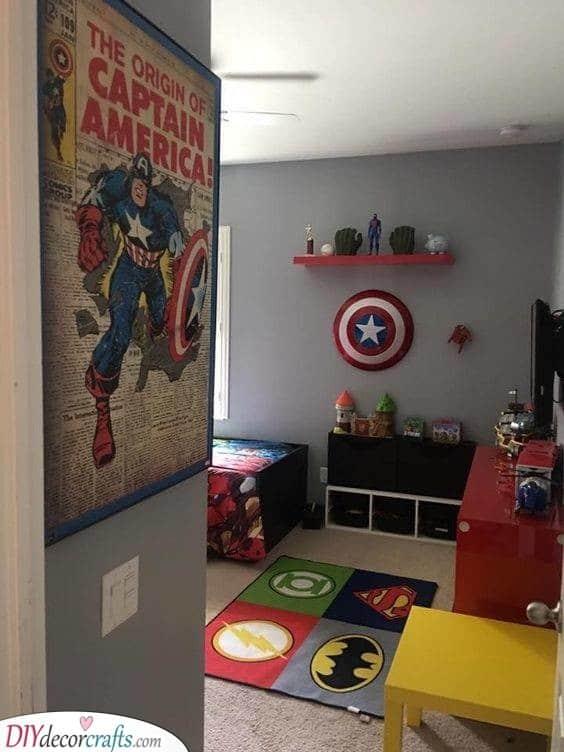 A Den for a Superhero - A Marvellous Design